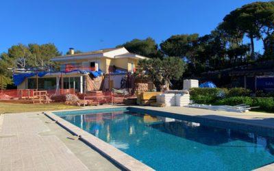 BSO reforma un habitatge a Castelldefels