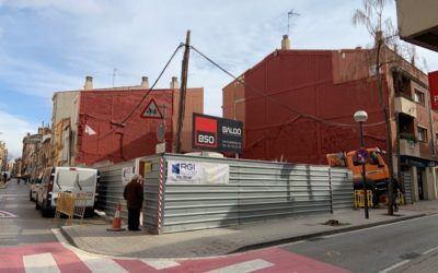 BSO inicia un edifici d'obra nova a Sabadell.