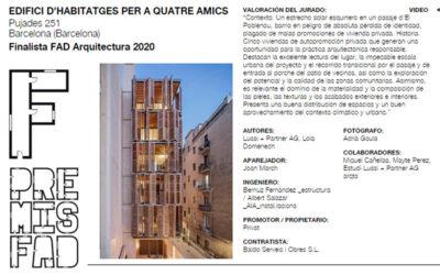 Baldó Constructora i el Premi FAD 2020