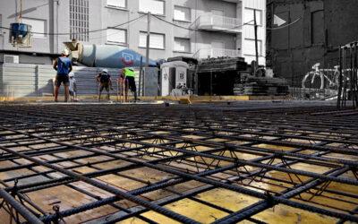 Edifici d'obra nova a Gràcia amb BSO.