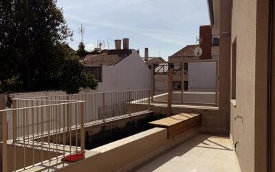 Finalitzem les obres d'una casa a Terrassa.