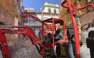 Baldó Constructora avança a Major de Sarrià.